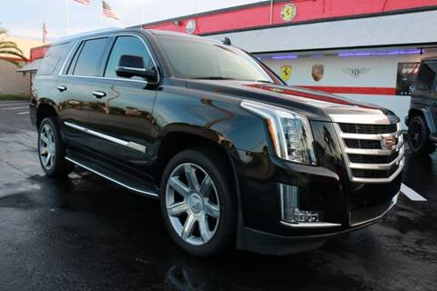 2016 Cadillac Escalade for sale in Fort Lauderdale, FL