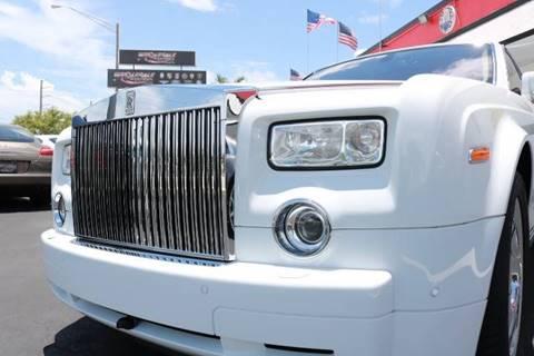2007 Rolls-Royce Phantom for sale in Fort Lauderdale, FL