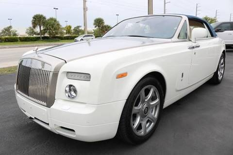 2011 Rolls-Royce Phantom Drophead Coupe for sale in Fort Lauderdale, FL