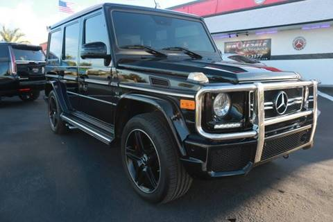 2014 Mercedes-Benz G-Class for sale in Fort Lauderdale, FL