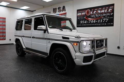 2017 Mercedes-Benz G-Class for sale in Fort Lauderdale, FL