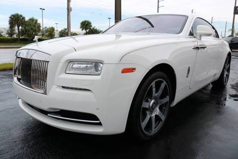 2014 Rolls-Royce Wraith for sale in Fort Lauderdale, FL