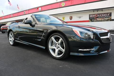 2014 Mercedes-Benz SL-Class for sale in Fort Lauderdale, FL