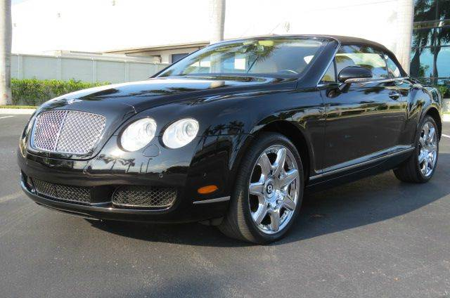 2008 Bentley Continental Gtc In Fort Lauderdale Fl Wholesale Auto
