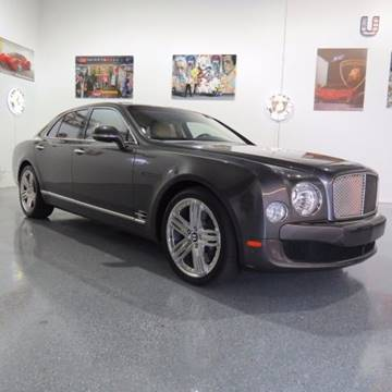 2011 Bentley Mulsanne for sale in Pompano Beach, FL