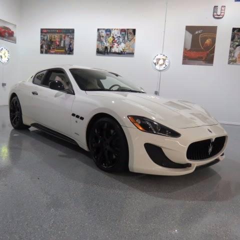 2013 Maserati GranTurismo for sale at Wholesale Auto Group in Pompano Beach FL