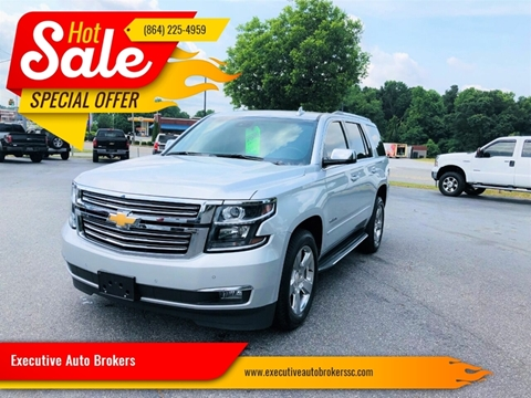 Chevrolet Tahoe For Sale In Anderson Sc Executive Auto