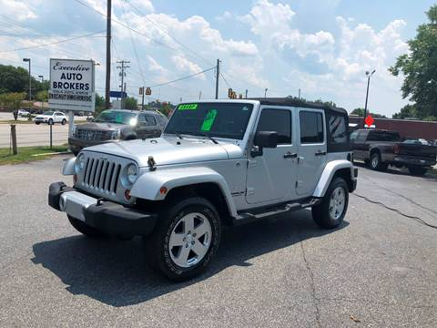 2011 Jeep Wrangler Unlimited for sale in Anderson, SC