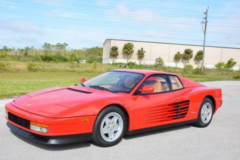 1991 Ferrari Testarossa for sale in West Palm Beach, FL