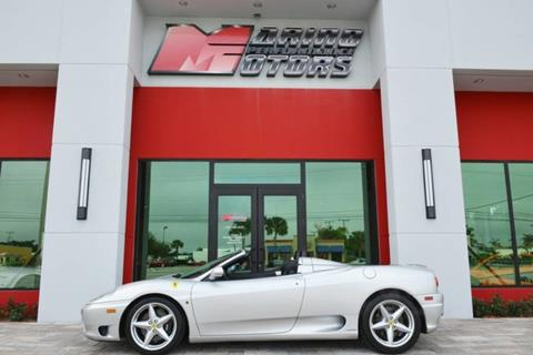 2004 Ferrari 360 Spider For Sale In West Palm Beach, FL