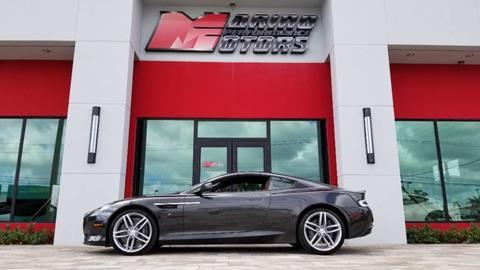 Aston Martin DB For Sale In West Palm Beach FL Carsforsalecom - Palm beach aston martin