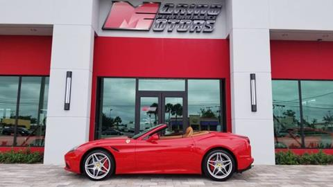 2017 Ferrari California T For Sale In West Palm Beach, FL