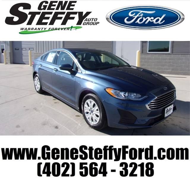 2019 Ford Fusion S 4dr Sedan In Columbus Ne Gene Steffy Ford