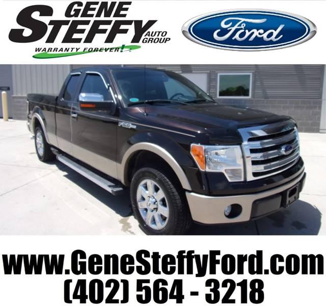 Gene Steffy Ford >> 2013 Ford F-150 4x2 Lariat 4dr SuperCab Styleside 6.5 ft. SB In Columbus NE - Gene Steffy Ford