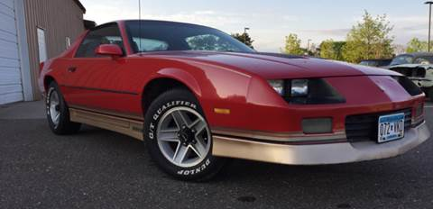 1985 Chevrolet Camaro for sale at MATTHEWS AUTO SALES in Elk River MN