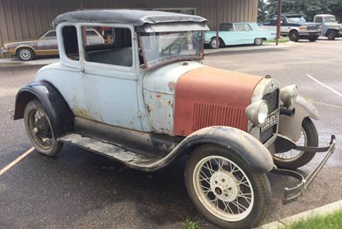 1929 Ford Model A for sale at MATTHEWS AUTO SALES in Elk River MN