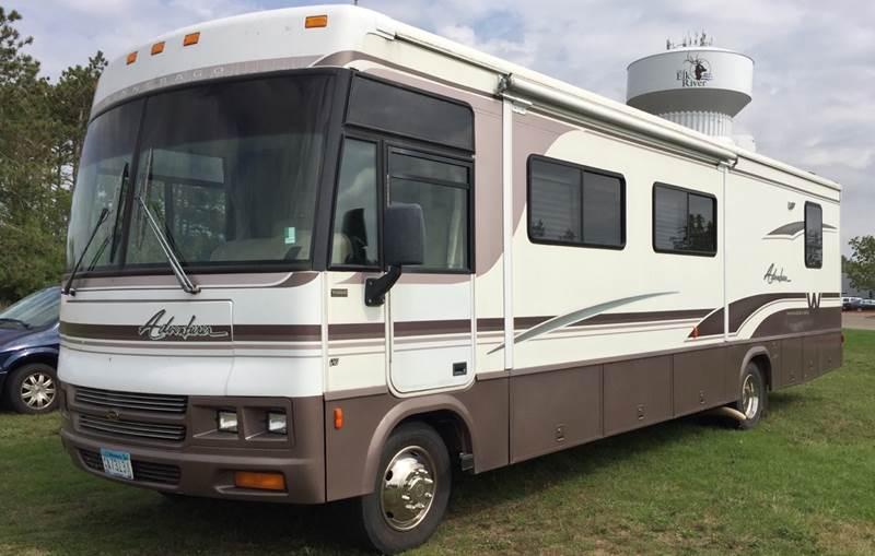 2000 Winnebago Adventurer for sale at MATTHEWS AUTO SALES in Elk River MN