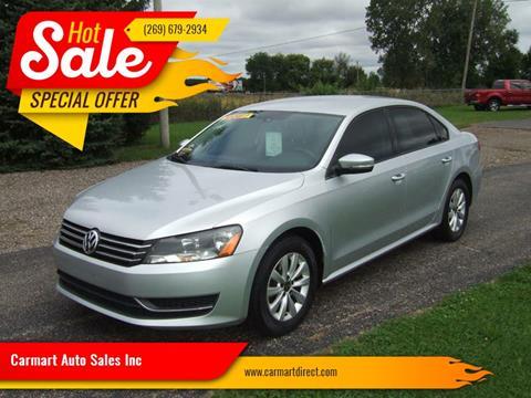 2013 Volkswagen Passat for sale in Schoolcraft, MI