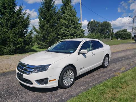 2012 Ford Fusion Hybrid for sale in Schoolcraft, MI