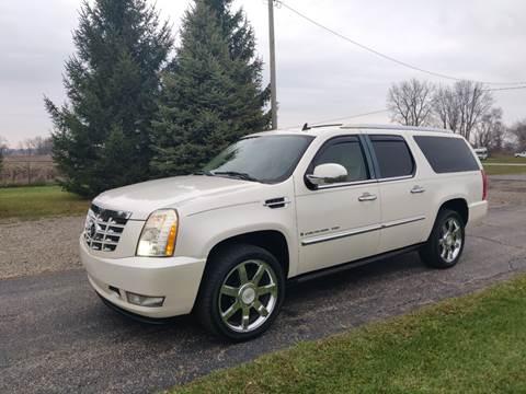 2007 Cadillac Escalade ESV for sale in Schoolcraft, MI