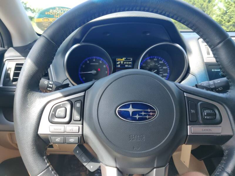2015 Subaru Outback AWD 2.5i Limited 4dr Wagon - Schoolcraft MI