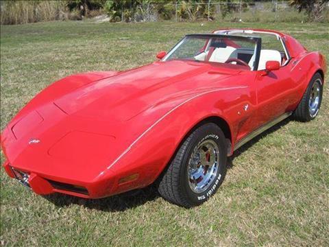 1977 Chevrolet Corvette for sale at RPM Motors LLC in West Palm Beach FL