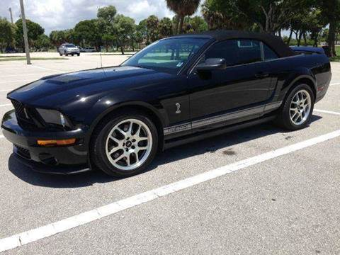 2007 Ford Mustang SVT Cobra for sale at RPM Motors LLC in West Palm Beach FL