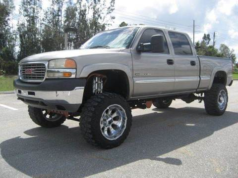 2002 GMC Sierra 2500HD for sale at RPM Motors LLC in West Palm Beach FL