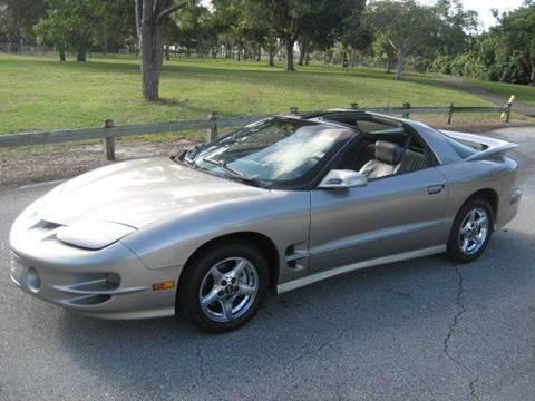 1999 Pontiac Firebird for sale at RPM Motors LLC in West Palm Beach FL