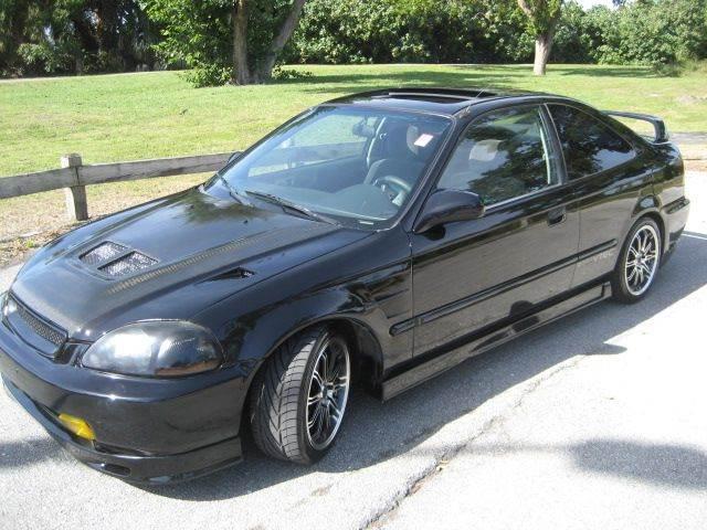 2000 Honda Civic EX 2dr Coupe   West Palm Beach FL
