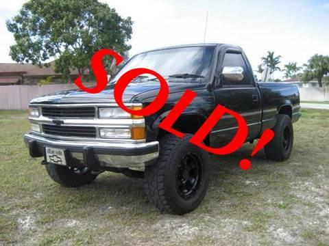 1989 Chevrolet C/K 1500 Series for sale at RPM Motors LLC in West Palm Beach FL
