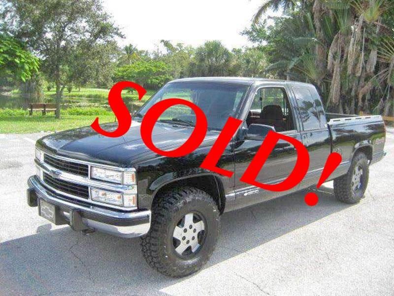 1995 Chevrolet C/K 1500 Series for sale at RPM Motors LLC in West Palm Beach FL