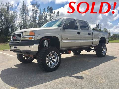 2001 GMC Sierra 2500HD for sale in West Palm Beach, FL