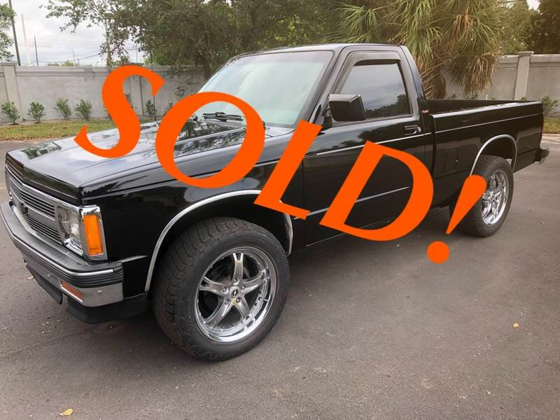 1993 Chevrolet S-10 for sale at RPM Motors LLC in West Palm Beach FL