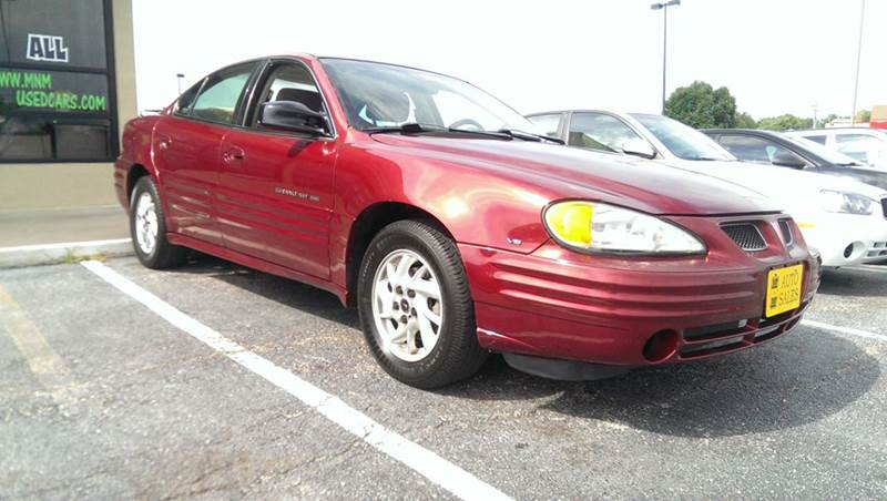 2001 Pontiac Grand Am SE1 4dr Sedan - Jefferson City MO