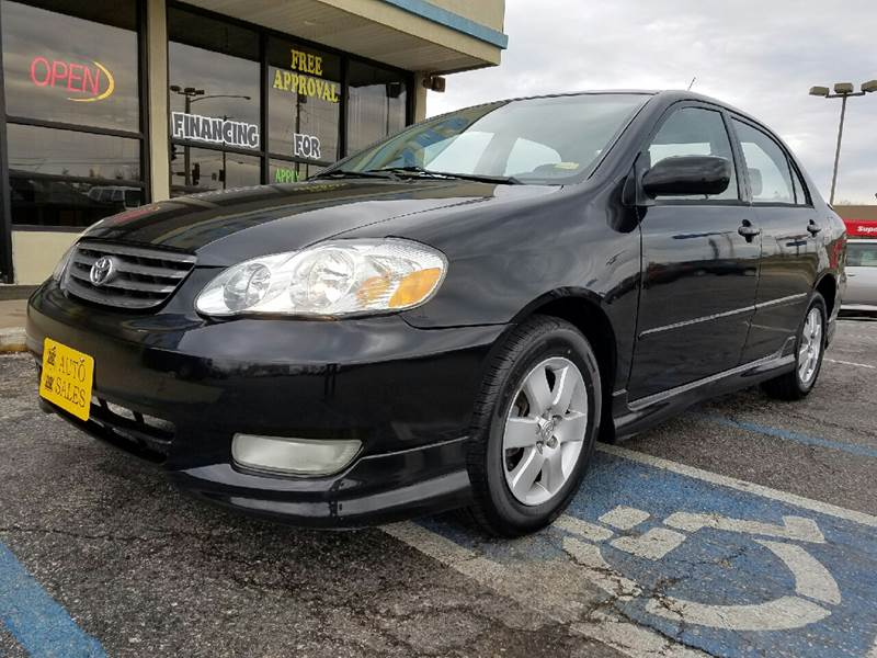 2004 Toyota Corolla S 4dr Sedan - Jefferson City MO