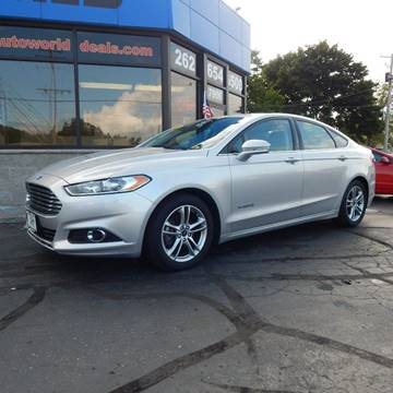 2015 Ford Fusion Hybrid for sale in Kenosha, WI