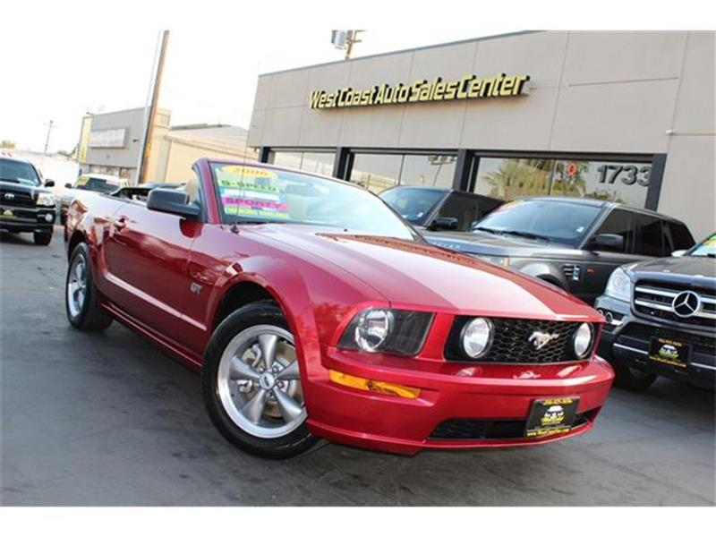 2006 Ford Mustang GT Deluxe 5 Speed Must See & Convertible! - Sacramento CA