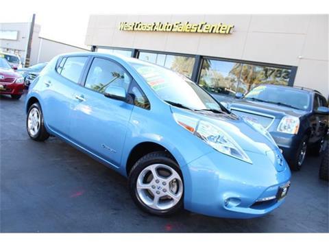 2012 Nissan LEAF for sale in Sacramento, CA