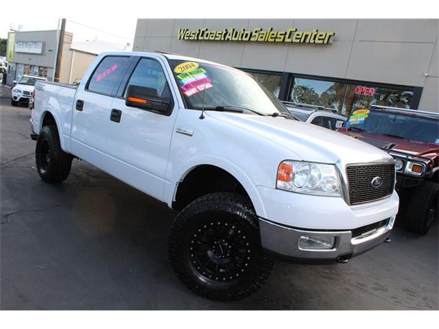 2004 Ford F-150 Lariat SuperCrew 4x4 Low Miles,Lifted,Super Clean! - Sacramento CA
