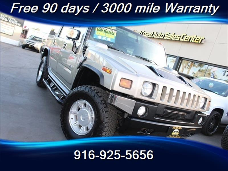 2005 Hummer H2 4WD 4dr SUV In Sacramento CA - West Coast ...