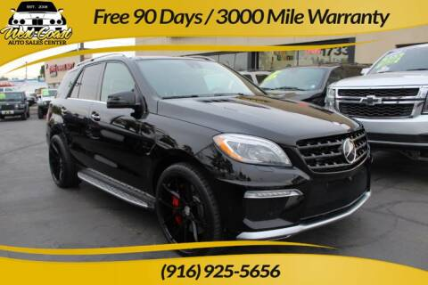 2014 Mercedes-Benz M-Class for sale at West Coast Auto Sales Center in Sacramento CA