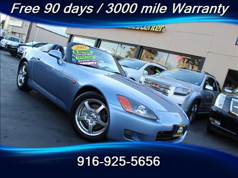 2002 Honda S2000 for sale in Sacramento, CA