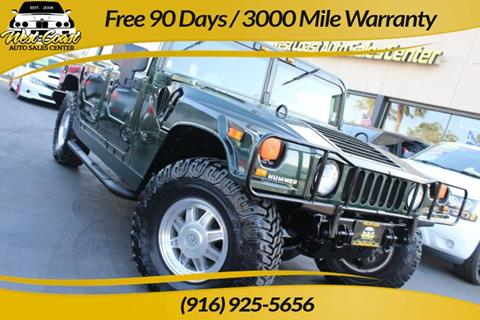 2002 HUMMER H1 for sale in Sacramento, CA