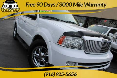 2006 Lincoln Navigator for sale at West Coast Auto Sales Center in Sacramento CA