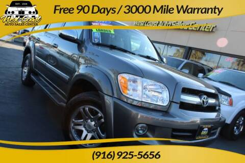 2007 Toyota Sequoia Limited for sale at West Coast Auto Sales Center in Sacramento CA