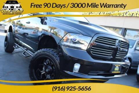 2016 RAM Ram Pickup 1500 Sport for sale at West Coast Auto Sales Center in Sacramento CA