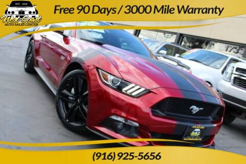 2015 Ford Mustang GT Premium for sale at West Coast Auto Sales Center in Sacramento CA