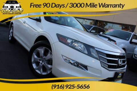 2010 Honda Accord Crosstour for sale at West Coast Auto Sales Center in Sacramento CA