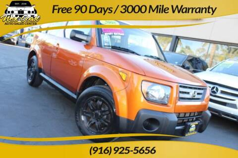 2008 Honda Element for sale at West Coast Auto Sales Center in Sacramento CA